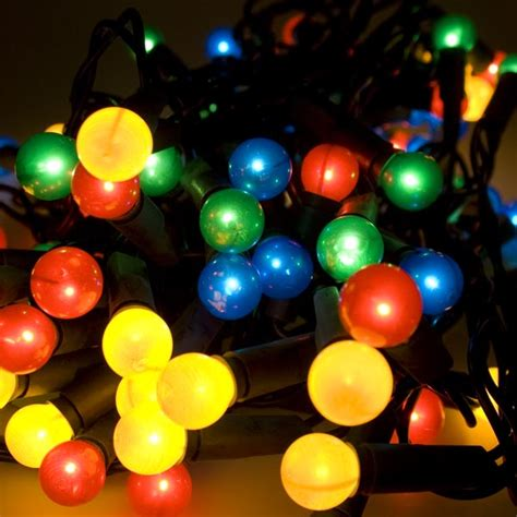 berry lights noma 11 85m length of 80 multi coloured indoor static