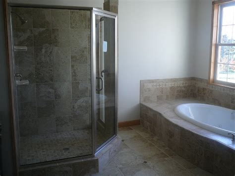 ramsay and construction custom tile work and bathrooms - Custom Tile Bathrooms