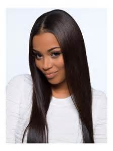 stock straight 100 density full lace human hair wig