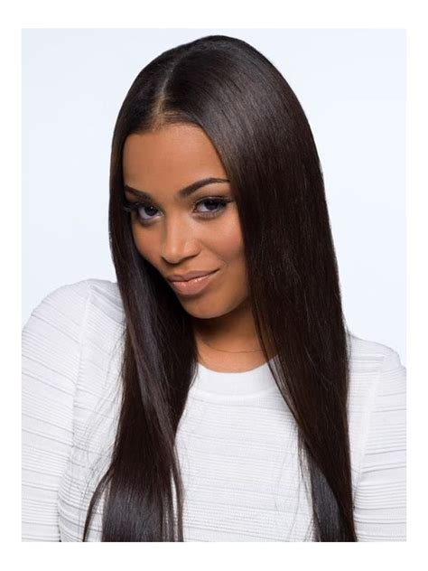hair wigs stock straight 100 density full lace human hair wig