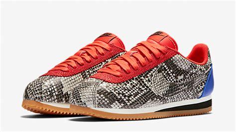 Original Bnwb Nike Classic Cortez Snake Skin Prm Leather Blackgrey nike cortez snake comprar zapatillas nike cortez snake baratas espa 241 a outlet