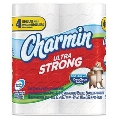 charmin bathroom tissue charmin ultra strong bathroom tissue 4 pack