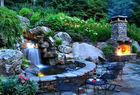 Backyard Pond Ideas With Waterfall Landscape Ponds And Waterfalls Backyard Pond Landscape