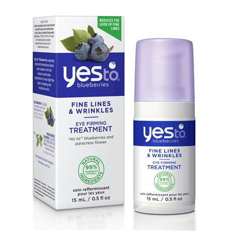 Yes To Blueberries by Yes To Blueberries Eye Firming Treatment 15ml Feelunique