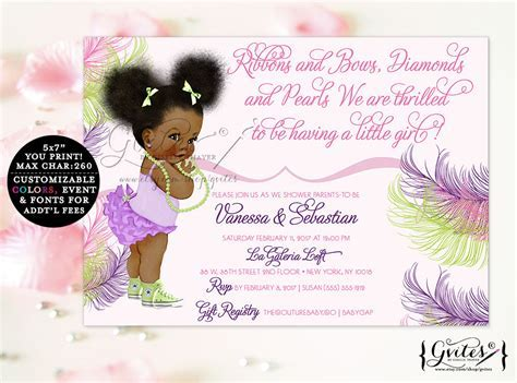 Ethnic Baby Shower Invitations   Party XYZ