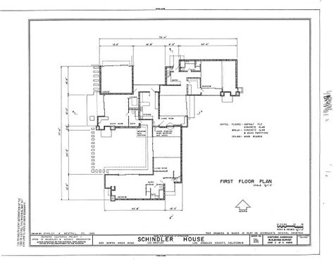 Single Floor House Plans ad classics kings road house rudolf schindler archdaily