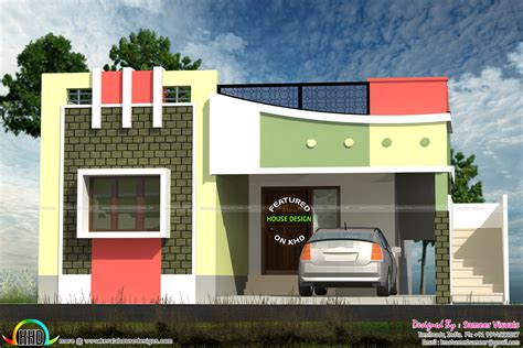 home design for small homes small tamilnadu style home design kerala home design and