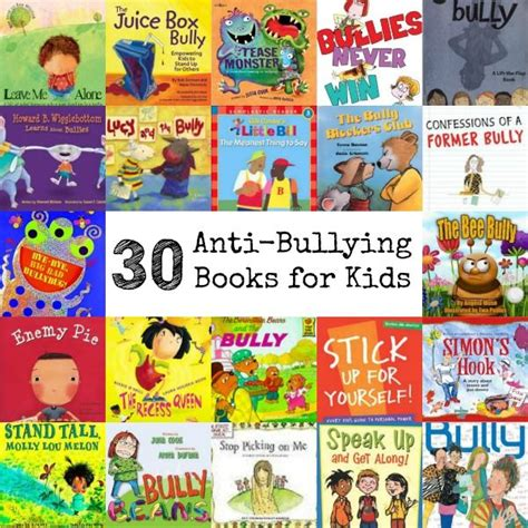 picture books about bullying 30 anti bullying books for via natlubrano on