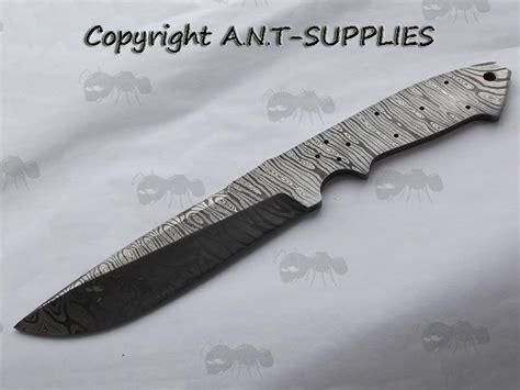 fixed blade knife blanks damascus knife blade blanks knife steel blank
