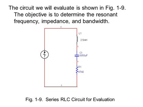 how to calculate self resonant frequency of an inductor problem solving part 2 resonance ppt