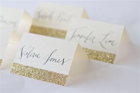 diy wedding place cards australia glitter place cards with custom calligraphy for wedding event or shower wedding events