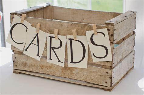 wooden wedding card box ideas 50 beautiful rustic wedding ideas