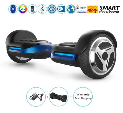 hoverboard with speakers and lights 6 5 quot kids hoverboard with bluetooth speakers and led