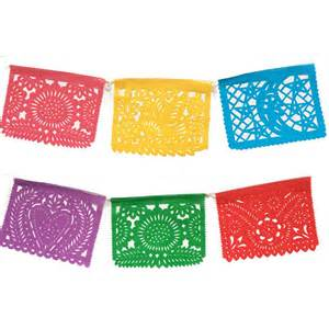 How To Make Mexican Paper Banners - medium papel picado