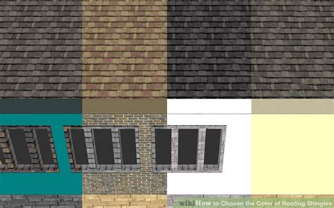 roofing colors how to choose the color of roofing shingles 9 steps