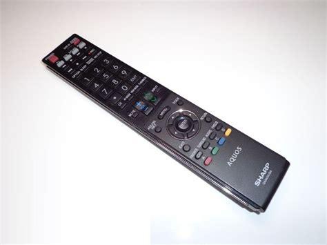 Hp Sony Aquos genuine sharp aquos ga840wjsa lcd tv remote