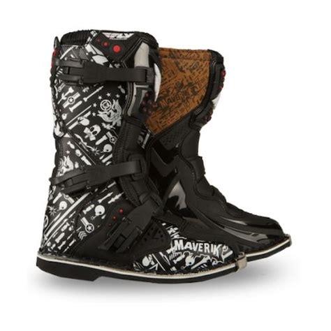 maverik motocross boots fly racing youth maverik mx boots revzilla