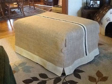 how to make ottoman cover wide selections of slipcover for ottoman homesfeed