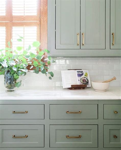white kitchen cabinets wall color best 25 green kitchen ideas on