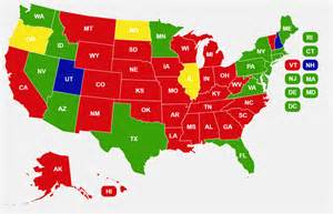 Usa Concealed Carry Map by 8 Maps About America And Guns A Map For Everything