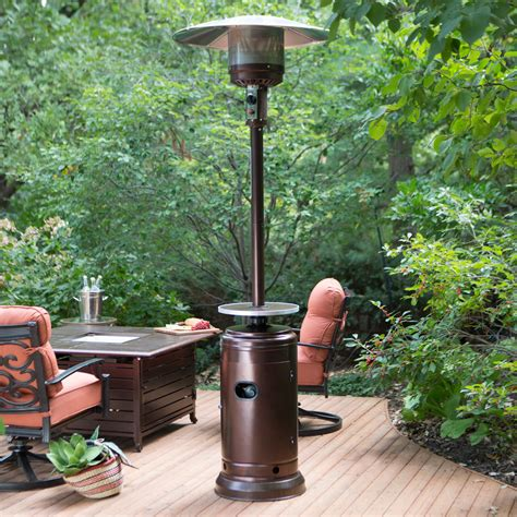 Patio Heater by Ember Hammered Bronze Commercial Patio Heater With