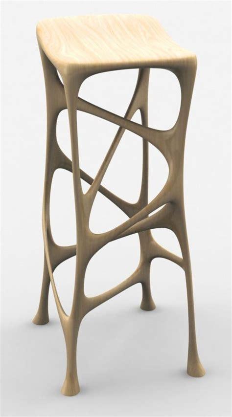 Nouveau Bar Stools by 3d Printed Furniture Organic Stool D 233 Sign 3d Print