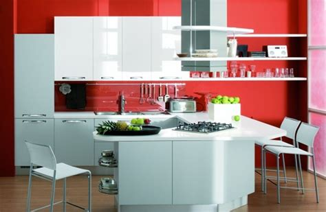 White And Red Kitchen Ideas by Red And White Kitchen Design Plushemisphere