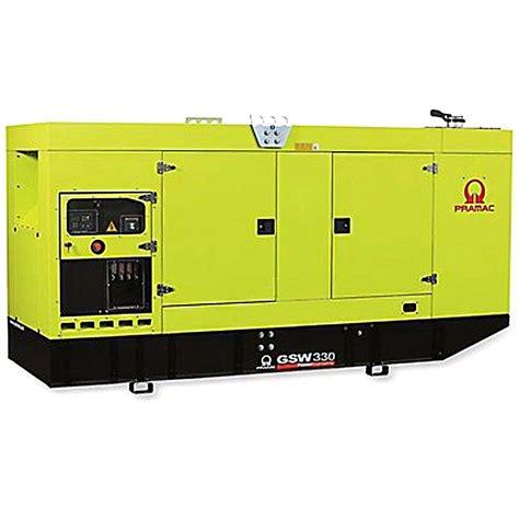 pramac gsw330v diesel generator volvo engine pramac