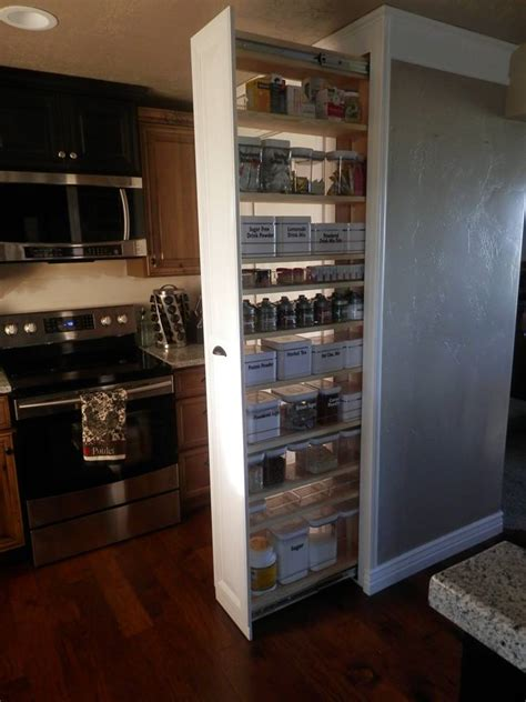kitchen cabinets pull out pantry hometalk pull out pantry