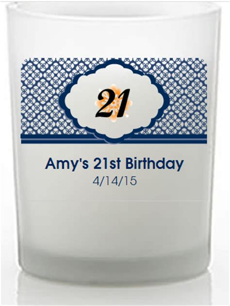 21st Birthday Giveaways - 21st birthday party favors cheap candle favors