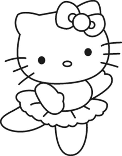 Coloriage Hello Kitty jeu à imprimer et colorier