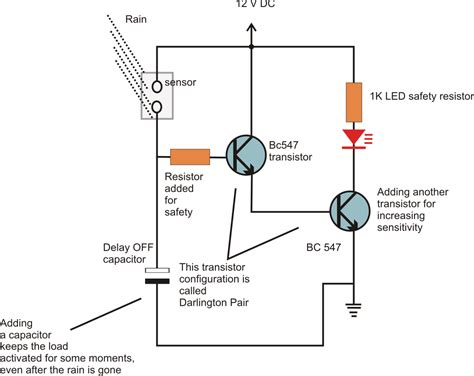 resistor transistor how to configure resistors capacitors and transistors in electronic circuits circuit diagram