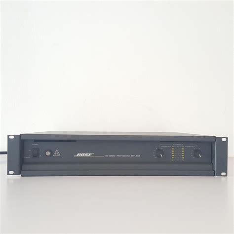 bose audio amplifier  bose pa amplifier power