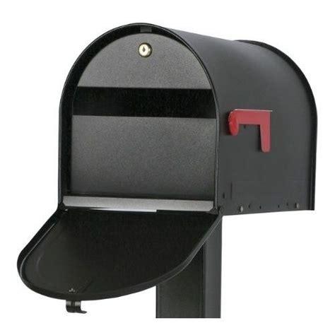 gibraltar locking mailbox security post mount rural
