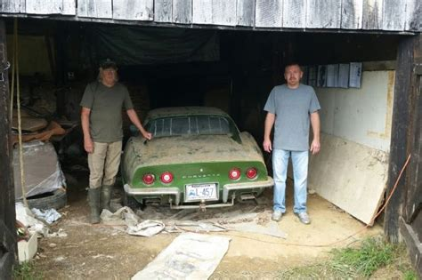 Garage Sale Finder Ky Kentucky Barn Find 1972 Chevrolet Corvette Stingray
