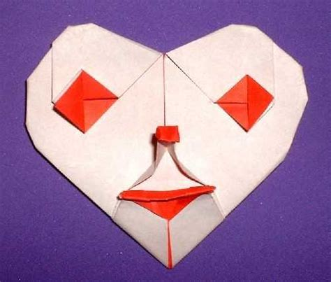 Origami Clown - origami diagrams gilad s origami page