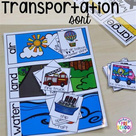 kindergarten themes transportation transportation centers and activities road number mat
