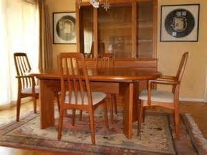 Teak Dining Room Hutch 3 000 Teak Dining Room Set Skovby Mid Century
