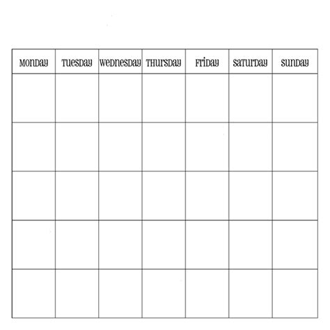 printable blank calendar template word excel pdf image 4721444 by templatetoprint on favim
