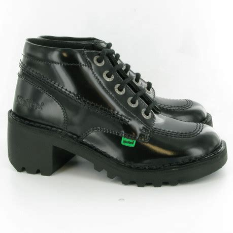 Kickers Safety Boots 01 kickers kopey hi boots in black