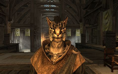 skyrim radioreggaes hair workshop for khajiit khajiit mohawk without earrings at skyrim nexus mods and