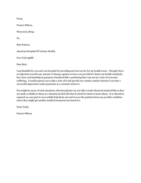 Sle Letter Requesting Hardship Withdrawal From 401k Exle Of Hardship Letter Crna Cover Letter