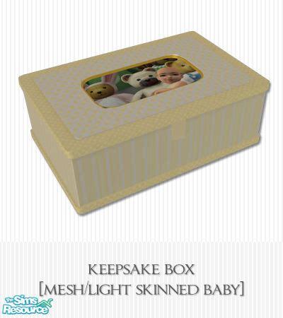 Pliko Baby Box 808 living dead s baby boutique keepsake box mesh