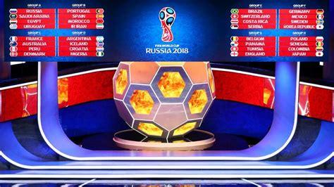 russia 2018 sorteggiati i gironi per i mondiali di calcio