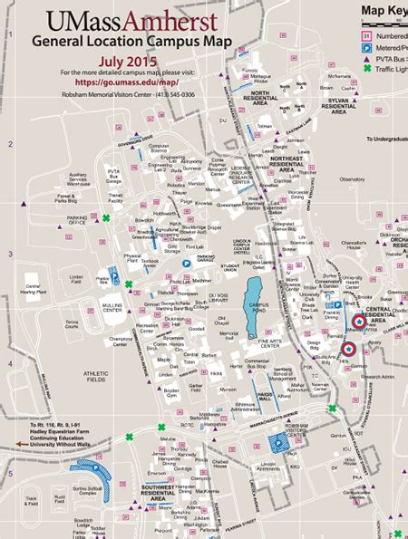 Umass Amherst Mba Road Map by Map Of Umass Amherst Cus My
