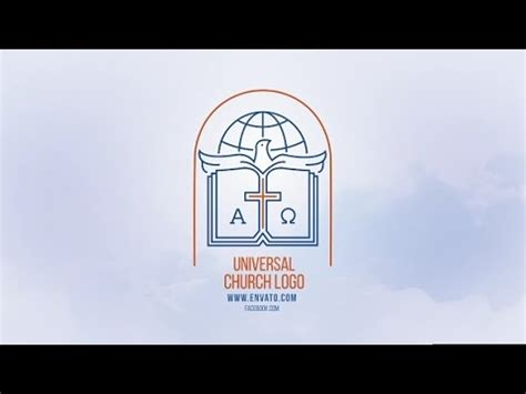 church after effects templates universal church logo after effects template