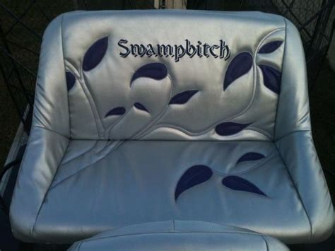 airboat seat covers new airboat seats southern airboat picture gallery