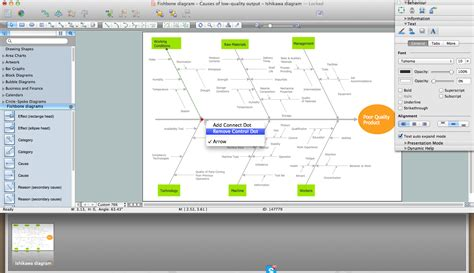 mac diagramming software draw fishbone diagram mac software professional