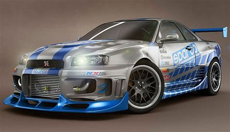 fast and furious best cars nissan skyline