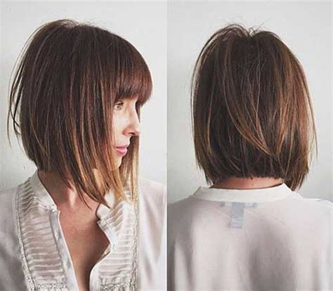 inverted bob hairstyles with bangs 30 best inverted bob with bangs bob hairstyles 2017